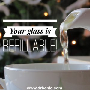 Your Glass Is Refillable